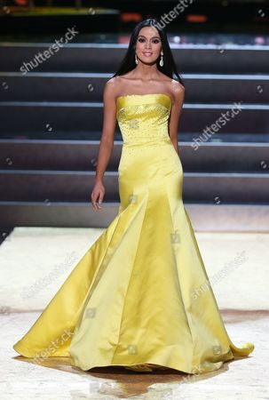 Ariella Arida Miss Philippines 2013 Takes the Stage During the Evening Gown Competition During the 2013 Miss Universe Grand Finale Held at the Crocus City Hall in Moscow Russia 09 November 2013 Gabriela Isler Won the Beauty Pageant Russian Federation Moscow