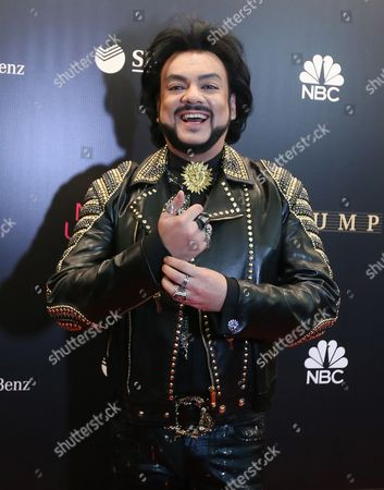 Russian Singer Philipp Kirkorov Arrive For the 2013 Miss Universe Grand Finale Held at the Crocus City Hall in Moscow Russia 09 November 2013 Russian Federation Moscow