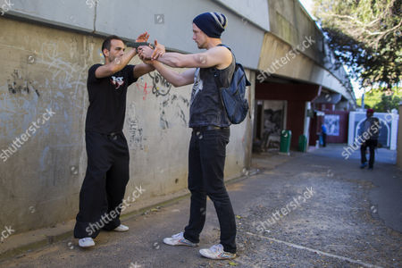 Editorial photo of South Africa Tactical Kung Fu Training - Sep 2014