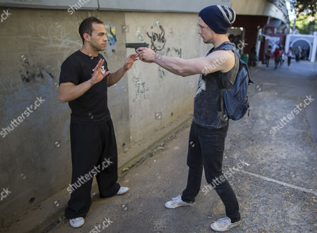 Editorial image of South Africa Tactical Kung Fu Training - Sep 2014