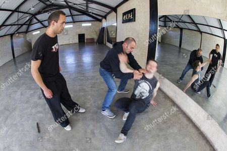 Editorial picture of South Africa Tactical Kung Fu Training - Sep 2014