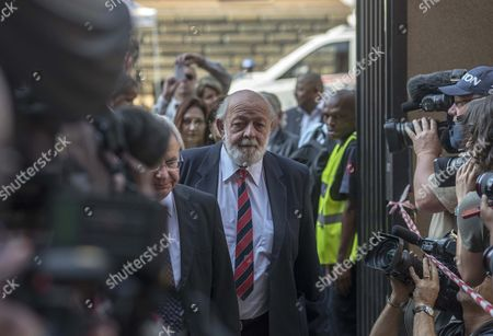 Barry Steenkamp the Father of Reeva Steenkamp Arrives at the High Court For the Sentencing of South African Paralympic Athlete Oscar Pistorius Murder Trial in Pretoria South Africa 13 October 2014 South African Athlete Oscar Pistorius Arrived on 13 October at the North Gauteng High Court For the Start of His Sentencing Hearing in the Killing of His Girlfriend Reeva Steenkamp South Africa Pretoria