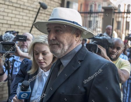 Henke Pistorius the Father of South African Paralympic Athlete Oscar Pistorius Arrives at High Court For the Verdict in His Son's Murder Trial Pretoria South Africa 11 September 2014 Pistorius Stands Trial For the Premeditated Murder of His Model Girlfriend Reeva Steenkamp in February 2013 South Africa Pretoria
