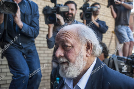 Barry Steenkamp the Father of Reeva Steenkamp is Seen Arriving at the High Court For the Final Day of the Sentencing of South African Paralympic Athlete Oscar Pistorius During His Ongoing Murder Trial Pretoria South Africa 21 October 2014 Pistorius was Convicted of Culpable Homicide For His Part in the Shooting of His Model Girlfriend Reeva Steenkamp in February 2013 South Africa Pretoria