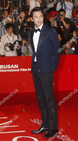 South Korean Actor Kim Nam-gil Arrives at the Opening Ceremony of the 19th Busan International Film Festival (biff) in Busan South Korea 02 October 2014 the Film Festival One of the Most Significant in Asia Will Showcase 314 Films From 79 Countries From 02 to 11 October Korea, Rebublic of Busan