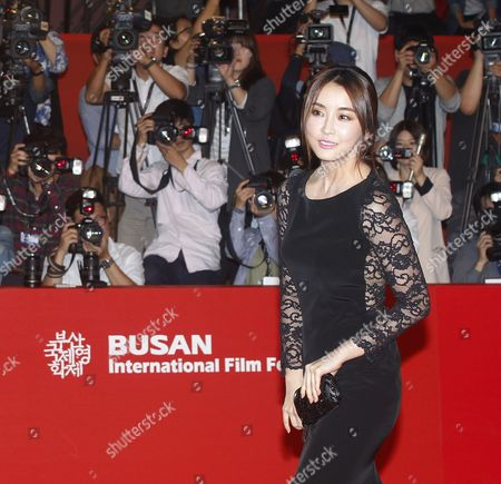 South Korean Actress Jung-yu-mi Arrives at the Opening Ceremony of the 19th Busan International Film Festival (biff) in Busan South Korea 02 October 2014 the Film Festival One of the Most Significant in Asia Will Showcase 314 Films From 79 Countries From 02 to 11 October Korea, Rebublic of Busan