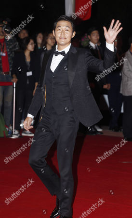 South Korean Actor Park Sung-woong Arrives at the Opening Ceremony of the 19th Busan International Film Festival (biff) in Busan South Korea 02 October 2014 the Film Festival One of the Most Significant in Asia Will Showcase 314 Films From 79 Countries From 02 to 11 October Korea, Rebublic of Busan