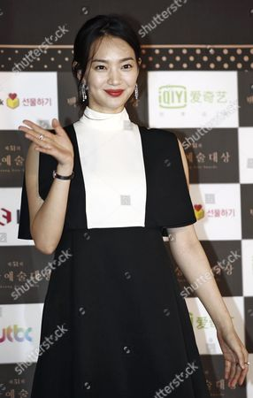 South Korean Actress Kim Hyang-gi Arrives For the 51st Annual Baeksang Art Awards at the Kyunghee University in Seoul South Korea 26 May 2015 Korea, Rebublic of Seoul