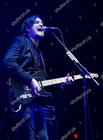 Vocalist James Walsh of British Rock Group Starsailor Performs on Pentaport Stage at the 2014 Incheon Pentaport Rock Festival in Incheon South Korea 03 Augst 2014 Incheon Pentaport Rock Festival Runs From 01 to 03 August Korea, Rebublic of Incheon
