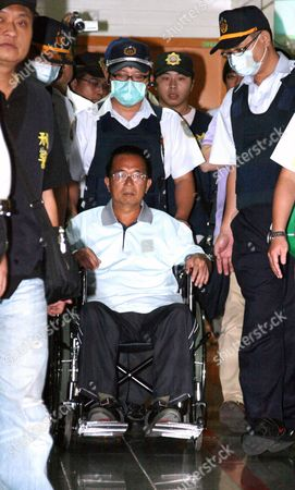 A Photo Made Available on 05 January 2015 Shows Ex-president Chen Shui-bian (c) Getting a Medical Checkup at Thetaoyuan General Hospital in Taoyuan City Taiwan 11 September 2012 on 05 January 2015 the Justice Ministry Granted One-month Medical Parole to Chen Due to His Deteriorating Health Chen President From 2000 Until 2008 Has Served More Than Six Years of His 20-year Jail Term Chen an Advocate of Taiwan Independence was Charged with Corruption and Money Laundering Which He Denied Calling It Political Persecution by President Ma Ying-jeou's China-friendly Chinese Naitonalist Party (kuomintang Or Kmt) Taiwan Taoyuan City