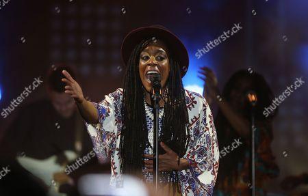 Editorial picture of Tunisia Carthage Jazz Festival - Apr 2015