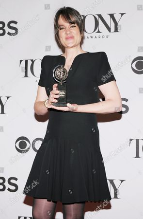 Us Theatre Director Pam Mackinnon Poses with the Award For Best Direction of a Play For 'Who's Afraid of Virginia Woolf ?' Poses in the Press Room at the 2013 Tony Awards at Radio City Music Hall in New York New York Usa 09 June 2013 the Annual Awards Honor Excellence in Broadway Theatre United States New York