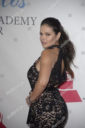 Julie Ferretti Arrives on the Red Carpet For the 2015 Latin Recording Academy Person of the Year Gala at Mandalay Bay Convention Center in Las Vegas Nevada Usa 18 November 2015 the Gala is Celebrating Brazilian Artist Roberto Carlos For His Artistic Social Contributions to the Latin Music and Culture United States Las Vegas