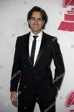 Stock Picture of Enrique Arbelaez Arrives on the Red Carpet For the 2015 Latin Recording Academy Person of the Year Gala at Mandalay Bay Convention Center in Las Vegas Nevada Usa 18 November 2015 the Gala is Celebrating Brazilian Artist Roberto Carlos For His Artistic Social Contributions to the Latin Music and Culture United States Las Vegas