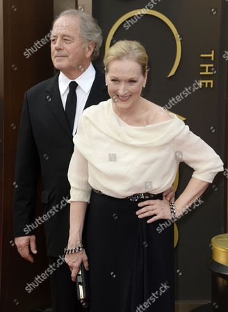 Us Actress Meryl Streep (r) and Husband Don Gummer (l) Arrive For the 86th Annual Academy Awards Ceremony at the Dolby Theatre in Hollywood California Usa 02 March 2014 the Oscars Are Presented For Outstanding Individual Or Collective Efforts in Up to 24 Categories in Filmmaking United States Hollywood
