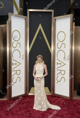 Australian Actress Portia Di Rossi Arrives For the 86th Annual Academy Awards Ceremony at the Dolby Theatre in Hollywood California Usa 02 March 2014 the Oscars Are Presented For Outstanding Individual Or Collective Efforts in Up to 24 Categories in Filmmaking United States Los Angeles