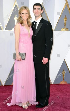 Blye Pagon Faust (l) and Guest Arrive For the 88th Annual Academy Awards Ceremony at the Dolby Theatre in Hollywood California Usa 28 February 2016 the Oscars Are Presented For Outstanding Individual Or Collective Efforts in 24 Categories in Filmmaking United States Hollywood