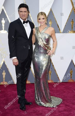 Debbie Matenopoulos (r) and Louis Aguirre (r) Arrive For the 88th Annual Academy Awards Ceremony at the Dolby Theatre in Hollywood California Usa 28 February 2016 United States Hollywood
