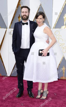 Benjamin Cleary (l) and Serena Armitage (r) Arrive For the 88th Annual Academy Awards Ceremony at the Dolby Theatre in Hollywood California Usa 28 February 2016 United States Hollywood