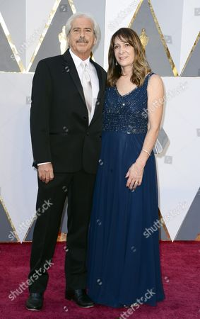Alan Robert Murray (l) and Guest Arrive For the 88th Annual Academy Awards Ceremony at the Dolby Theatre in Hollywood California Usa 28 February 2016 the Oscars Are Presented For Outstanding Individual Or Collective Efforts in 24 Categories in Filmmaking United States Hollywood