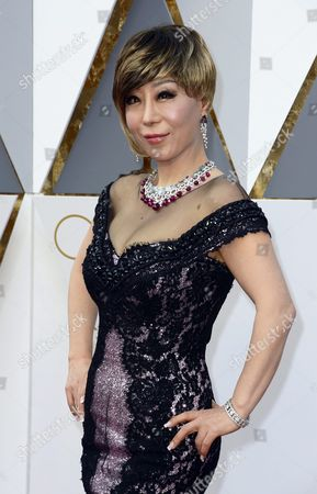 Sumi Jo Arrives For the 88th Annual Academy Awards Ceremony at the Dolby Theatre in Hollywood California Usa 28 February 2016 United States Hollywood