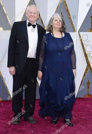 Richard Williams (l) and Imogen Sutton (r) Arrive For the 88th Annual Academy Awards Ceremony at the Dolby Theatre in Hollywood California Usa 28 February 2016 the Oscars Are Presented For Outstanding Individual Or Collective Efforts in 24 Categories in Filmmaking United States Hollywood
