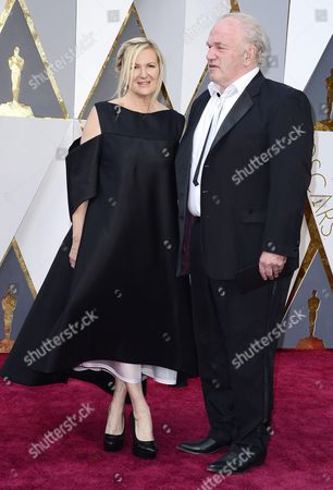 Jacqueline West (l) and Guest Arrive For the 88th Annual Academy Awards Ceremony at the Dolby Theatre in Hollywood California Usa 28 February 2016 the Oscars Are Presented For Outstanding Individual Or Collective Efforts in 24 Categories in Filmmaking United States Hollywood