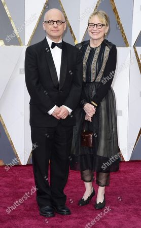 David Lang (l) and Suzanne Bocanegra Arrive For the 88th Annual Academy Awards Ceremony at the Dolby Theatre in Hollywood California Usa 28 February 2016 the Oscars Are Presented For Outstanding Individual Or Collective Efforts in 24 Categories in Filmmaking United States Hollywood