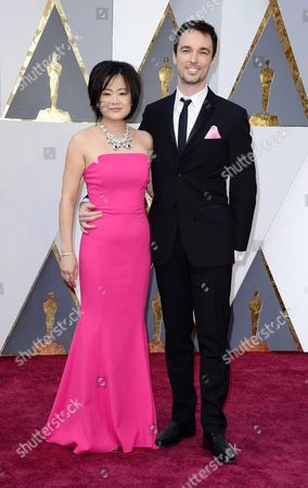 Rosa Tran (l) and Guest Arrive For the 88th Annual Academy Awards Ceremony at the Dolby Theatre in Hollywood California Usa 28 February 2016 the Oscars Are Presented For Outstanding Individual Or Collective Efforts in 24 Categories in Filmmaking United States Hollywood