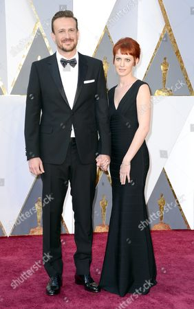 Jason Segel (l) and Alexis Mixter Arrive For the 88th Annual Academy Awards Ceremony at the Dolby Theatre in Hollywood California Usa 28 February 2016 the Oscars Are Presented For Outstanding Individual Or Collective Efforts in 24 Categories in Filmmaking United States Hollywood