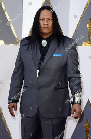 Arthur Redcloud Arrives For the 88th Annual Academy Awards Ceremony at the Dolby Theatre in Hollywood California Usa 28 February 2016 the Oscars Are Presented For Outstanding Individual Or Collective Efforts in 24 Categories in Filmmaking United States Hollywood