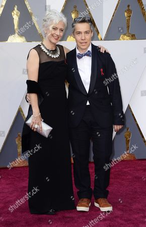 Stock Photo of Dee Hilbert-jones (l) and Nomi Talisman Arrive For the 88th Annual Academy Awards Ceremony at the Dolby Theatre in Hollywood California Usa 28 February 2016 United States Hollywood