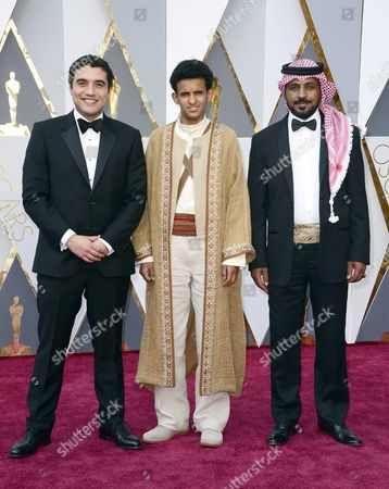 Naji Abu Nowar (l) and Guests Arrive For the 88th Annual Academy Awards Ceremony at the Dolby Theatre in Hollywood California Usa 28 February 2016 United States Hollywood