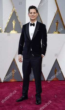 Adam Benzine Arrives For the 88th Annual Academy Awards Ceremony at the Dolby Theatre in Hollywood California Usa 28 February 2016 the Oscars Are Presented For Outstanding Individual Or Collective Efforts in 24 Categories in Filmmaking United States Hollywood