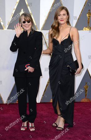Sissy Spacek (l) and Daughter Schuyler Fisk Arrives For the 88th Annual Academy Awards Ceremony at the Dolby Theatre in Hollywood California Usa 28 February 2016 the Oscars Are Presented For Outstanding Individual Or Collective Efforts in 24 Categories in Filmmaking United States Hollywood