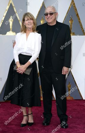 Randy Thom (r) and Guest Arrive For the 88th Annual Academy Awards Ceremony at the Dolby Theatre in Hollywood California Usa 28 February 2016 the Oscars Are Presented For Outstanding Individual Or Collective Efforts in 24 Categories in Filmmaking United States Hollywood