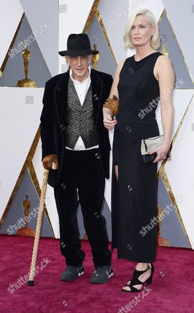 Ed Lachman (l) and Guest Arrives For the 88th Annual Academy Awards Ceremony at the Dolby Theatre in Hollywood California Usa 28 February 2016 the Oscars Are Presented For Outstanding Individual Or Collective Efforts in 24 Categories in Filmmaking United States Hollywood