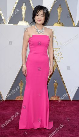 Rosa Tran Arrives For the 88th Annual Academy Awards Ceremony at the Dolby Theatre in Hollywood California Usa 28 February 2016 the Oscars Are Presented For Outstanding Individual Or Collective Efforts in 24 Categories in Filmmaking United States Hollywood