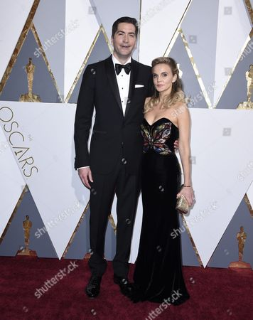 Drew Goddard (l) and Caroline Williams (r) Arrive For the 88th Annual Academy Awards Ceremony at the Dolby Theatre in Hollywood California Usa 28 February 2016 the Oscars Are Presented For Outstanding Individual Or Collective Efforts in 24 Categories in Filmmaking United States Hollywood