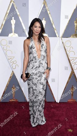 Diane Mizota Arrives For the 88th Annual Academy Awards Ceremony at the Dolby Theatre in Hollywood California Usa 28 February 2016 United States Hollywood