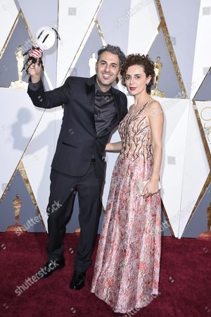 Ale Abreu (l) and Priscilla Kellen Arrive For the 88th Annual Academy Awards Ceremony at the Dolby Theatre in Hollywood California Usa 28 February 2016 the Oscars Are Presented For Outstanding Individual Or Collective Efforts in 24 Categories in Filmmaking United States Hollywood
