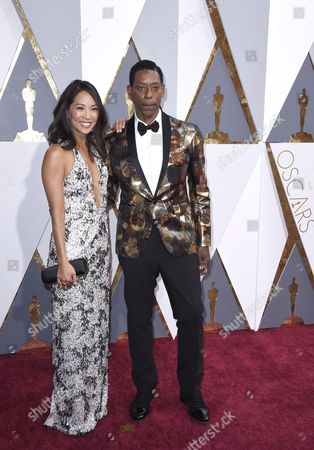 Diane Mizota (l) and Orlando Jones Arrive For the 88th Annual Academy Awards Ceremony at the Dolby Theatre in Hollywood California Usa 28 February 2016 United States Hollywood