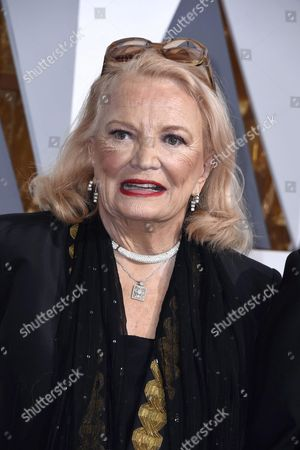 Gena Rowlands Arrives For the 88th Annual Academy Awards Ceremony at the Dolby Theatre in Hollywood California Usa 28 February 2016 the Oscars Are Presented For Outstanding Individual Or Collective Efforts in 24 Categories in Filmmaking United States Hollywood