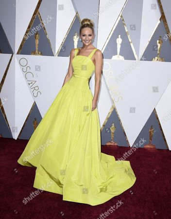 Jackie Miranne Arrives For the 88th Annual Academy Awards Ceremony at the Dolby Theatre in Hollywood California Usa 28 February 2016 the Oscars Are Presented For Outstanding Individual Or Collective Efforts in 24 Categories in Filmmaking United States Hollywood