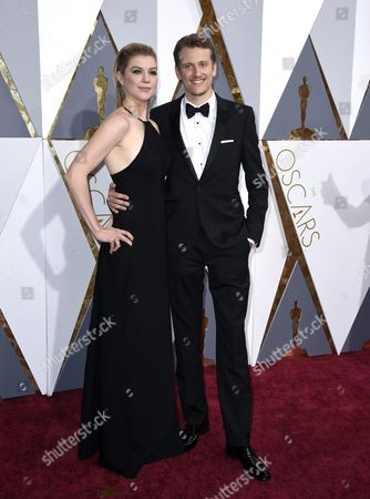 Stock Picture of Courtney Marsh (l) and Jerry Franck (r) Arrive For the 88th Annual Academy Awards Ceremony at the Dolby Theatre in Hollywood California Usa 28 February 2016 United States Hollywood