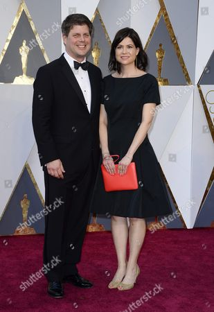 Adam Stockhausen and Guest Arrive For the 88th Annual Academy Awards Ceremony at the Dolby Theatre in Hollywood California Usa 28 February 2016 the Oscars Are Presented For Outstanding Individual Or Collective Efforts in 24 Categories in Filmmaking United States Hollywood