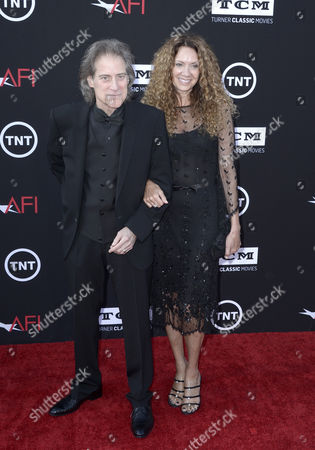 Us Actor Richard Lewis (l) and Us Producer Joyce Lapinsky (r) Arrive For the American Film Institute Life Achievement Award Gala Honoring Us Actor Director and Writer Mel Brooks at the Dolby Theatr California Usa 06 June 2013 Mel Brooks was Awarded the 41st Life Achievement Award For His Mastery in the Motion Picture Industry United States Hollywood