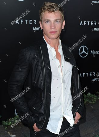 Us Model Nick Gruber Attends the 'After Earth' Us Premiere at the Ziegfeld Theater in New York Usa 29 May 2013 United States New York