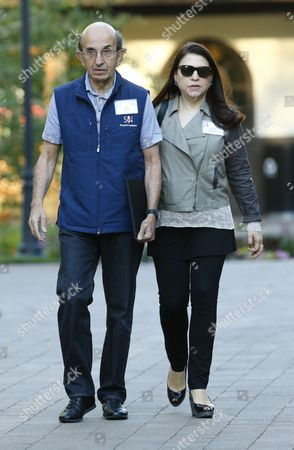 Attorney Joel Klein (l) and His Wife Nicole Seligman (r) at the Allen and Company 32nd Annual Media and Technology Conference in Sun Valley Idaho Usa 10 July 2014 the Event Brings Together the Leaders of the World's of Media Technology Sports Industry and Politics United States Sun Valley