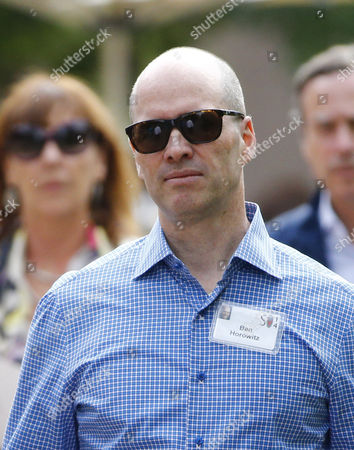 Us Businessman Ben Horowitz Arrives For the Allen and Company 32nd Annual Media and Technology Conference in Sun Valley Idaho Usa 09 July 2014 the Event Brings Together the Leaders of the World's of Media Technology Sports Industry and Politics United States Sun Valley